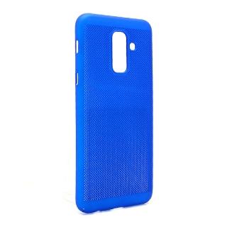 Futrola PVC BREATH za Samsung A605G Galaxy A6 Plus 2018 plava