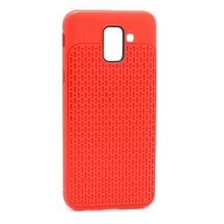 Futrola silikon DROPS za Samsung J600F Galaxy J6 2018 crvena