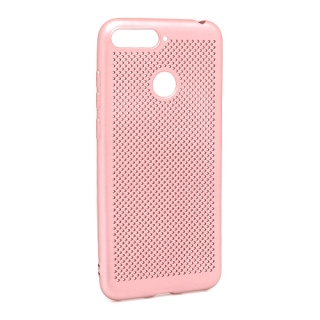 Futrola silikon BREATH za Huawei Y6 2018 roze