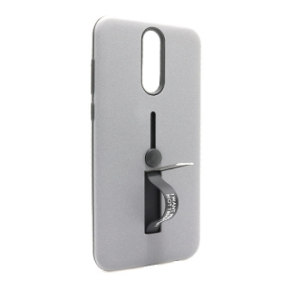 Futrola Finger Strap za Huawei Mate 10 Lite siva