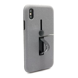 Futrola Finger Strap za Iphone X/ Iphone XS siva