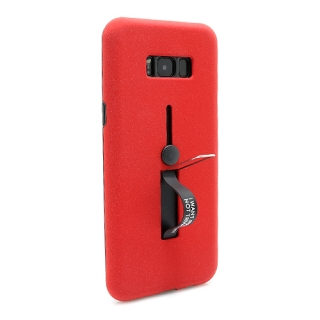 Futrola Finger Strap za Samsung G955F Galaxy S8 Plus crvena