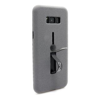 Futrola Finger Strap za Samsung G955F Galaxy S8 Plus siva