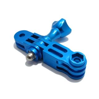 Adapter za GoPro Hero 4s/4/3+/3/2 trodelni plavi