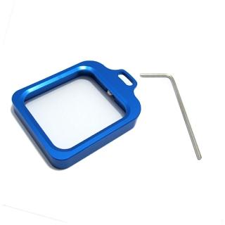 Aluminijumski okvir za GoPro Hero 3+/4 plavi