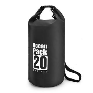 Vodootporna torba 20L crna