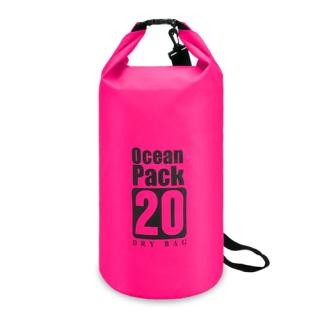 Vodootporna torba 20L roze