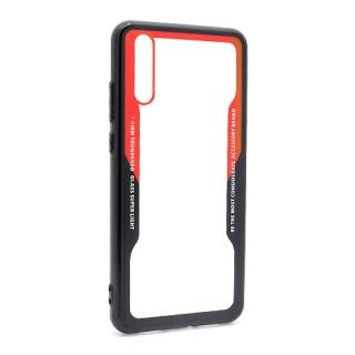 Futrola BACK CLEAR za Huawei P20 crno-crvena