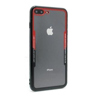 Futrola BACK CLEAR za Iphone 7 Plus/ Iphone 8 Plus crno-crvena