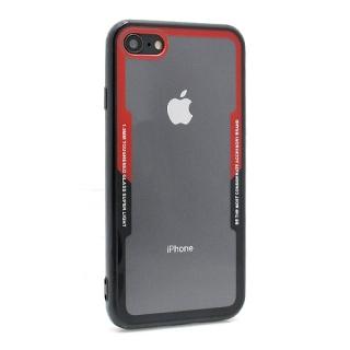 Futrola BACK CLEAR za Iphone 7/ Iphone 8 crno-crvena