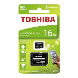 Memorijska kartica Toshiba Micro SD 16GB Class 10 UHS U1 + SD adapter