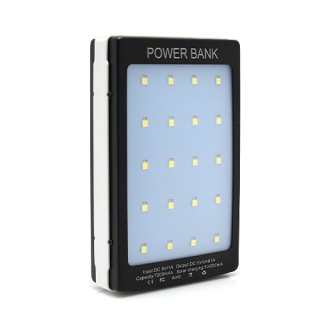Power bank SOLARNI 7200mAh crni