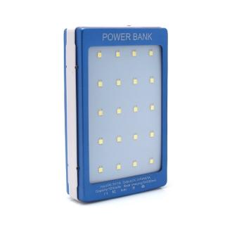 Power bank SOLARNI 7200mAh plavi