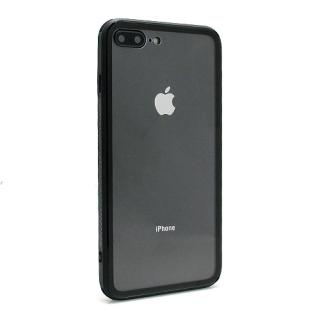 Futrola GLASS Clear za Iphone 7 Plus/Iphone 8 Plus crna