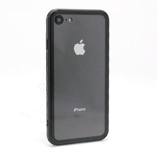 Futrola GLASS Clear za Iphone 7/Iphone 8 crna