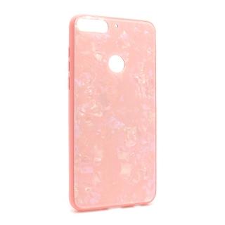 Futrola GLASS Crystal za Huawei Y7 Prime 2018/Honor 7 roze