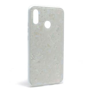 Futrola GLASS Crystal za Huawei P20 Lite bela