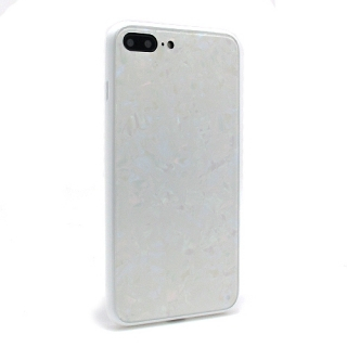 Futrola GLASS Crystal za Iphone 7 Plus/Iphone 8 Plus bela