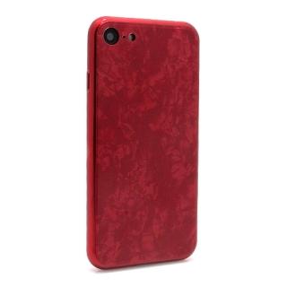 Futrola GLASS Crystal za Iphone 7/Iphone 8 crvena