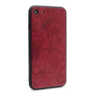 Futrola GLASS Crystal za Iphone 7/Iphone 8 crvena model 1