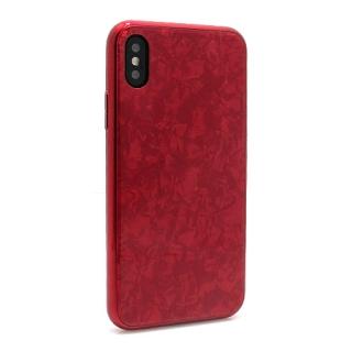 Futrola GLASS Crystal za Iphone X/ Iphone XS crvena