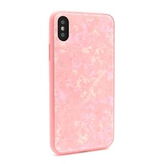 Futrola GLASS Crystal za Iphone X/ Iphone XS roze