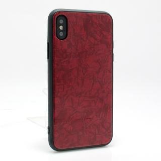 Futrola GLASS Crystal za Iphone X/ Iphone XS crvena model 1