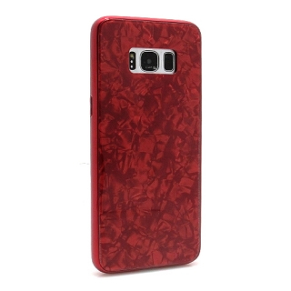 Futrola GLASS Crystal za Samsung G950F Galaxy S8 crvena