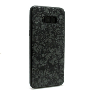 Futrola GLASS Crystal za Samsung G955F Galaxy S8 Plus crna