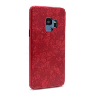 Futrola GLASS Crystal za Samsung G960F Galaxy S9 crvena