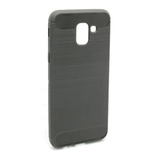 Futrola silikon BRUSHED za Samsung A600F Galaxy A6 2018 siva