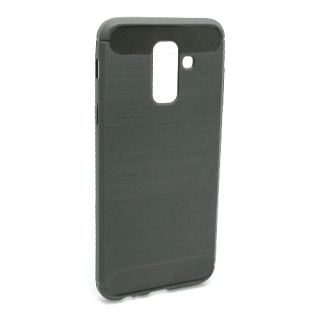 Futrola silikon BRUSHED za Samsung A605G Galaxy A6 Plus 2018 siva