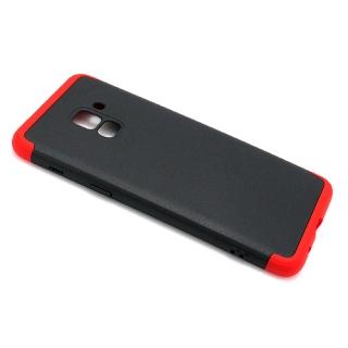Futrola PVC 360 PROTECT za Samsung A530F Galaxy A8 2018 crno-crvena