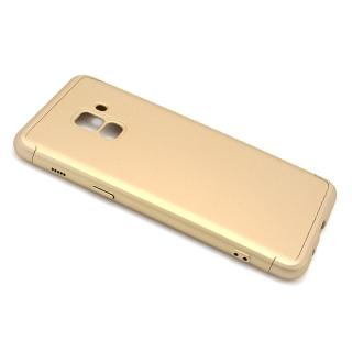 Futrola PVC 360 PROTECT za Samsung A530F Galaxy A8 2018 zlatna