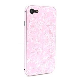 Futrola Magnetic Glass Crystal za Iphone 7/Iphone 8 roze