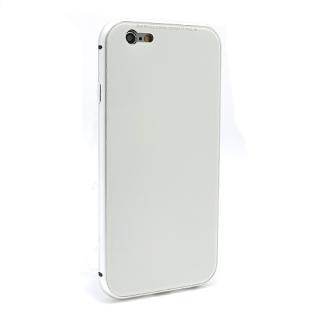 Futrola Magnetic Glass Frame za Iphone 6G/Iphone 6S bela