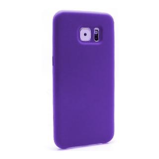 Futrola Silky and soft za Samsung G935 Galaxy S7 Edge ljubicasta