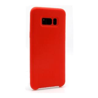Futrola Silky and soft za Samsung G955F Galaxy S8 Plus crvena