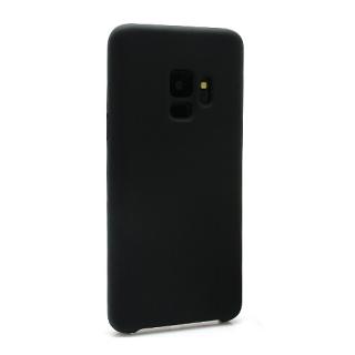 Futrola Silky and soft za Samsung G960F Galaxy S9 crna