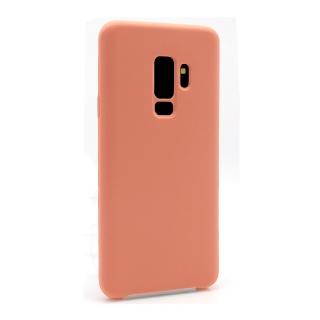 Futrola Silky and soft za Samsung G965F Galaxy S9 Plus roze