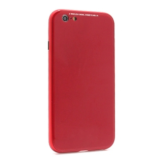 Futrola Magnetic frame 360 za Iphone 6G/Iphone 6S crvena