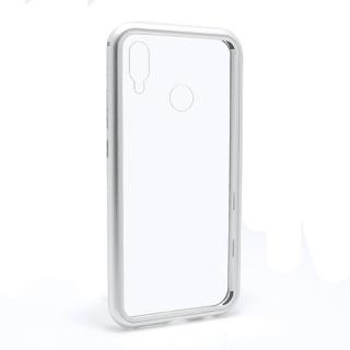 Futrola Magnetic frame za Huawei P20 Lite srebrna