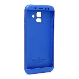 Futrola PVC 360 PROTECT za Samsung A600F Galaxy A6 2018 plava