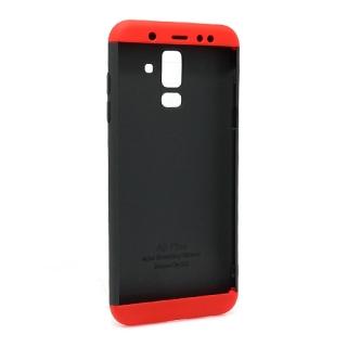 Futrola PVC 360 PROTECT za Samsung A605G Galaxy A6 Plus 2018 crno-crvena