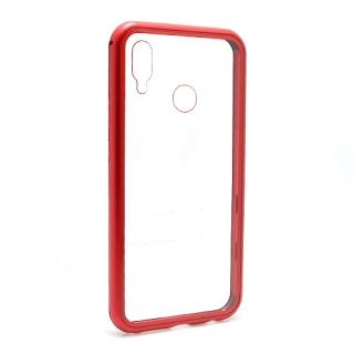 Futrola Magnetic frame za Huawei P20 Lite crvena
