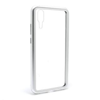 Futrola Magnetic frame za Huawei P20 srebrna