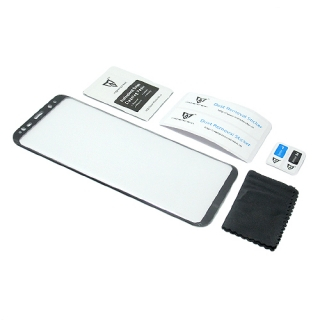 Folija za zastitu ekrana GLASS MONSTERSKIN 3D za Samsung G955F Galaxy S8 Plus crna