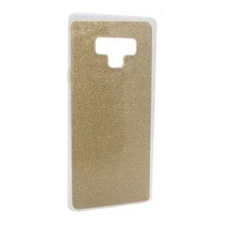 Futrola silikon GLITTER za Samsung N960F Galaxy Note 9 zlatna