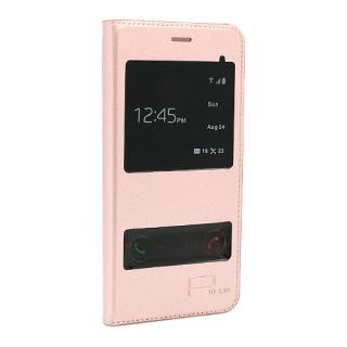 Futrola BI FOLD SMART VIEW za Huawei P10 Lite roze