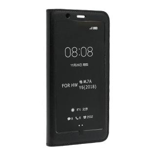 Futrola BI FOLD SMART VIEW za Huawei Y6 2018 crna